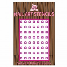 Combo Pack Nail Stencils